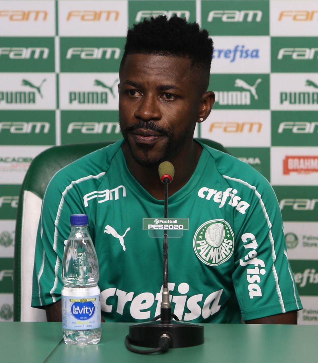 Cesar Greco/Ag. Palmeiras/Divulgação_Multicampeão, o meio-campista Ramires chegou ao Verdão em 2019