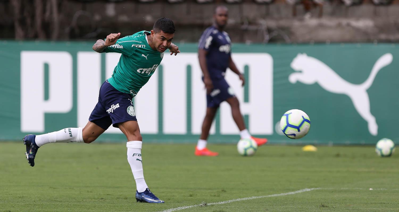 Cesar Greco/Ag. Palmeiras/Divulgação_A tarde foi de circuito técnico e físico
