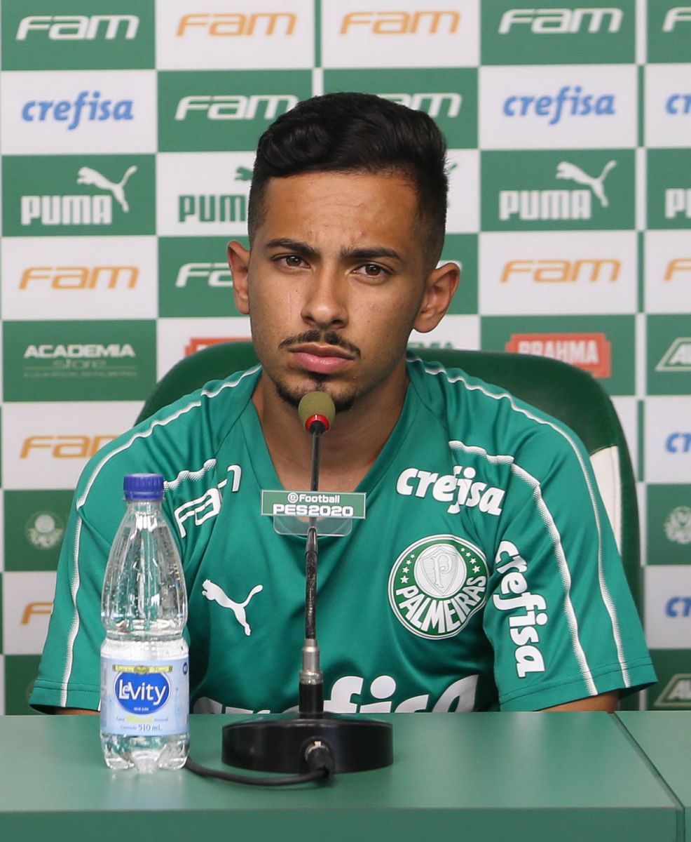 Cesar Greco/Ag. Palmeiras/Divulgação_Alan começou sua carreira no Verdão jogando futsal