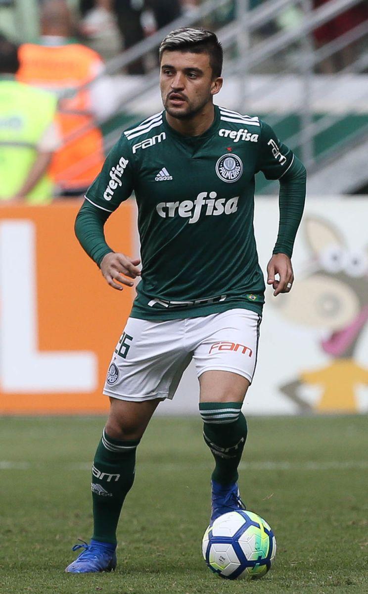 Cesar Greco/Ag. Palmeiras/Divulgação_Cria da Academia, Victor Luis completou 75 jogos pelo Palmeiras