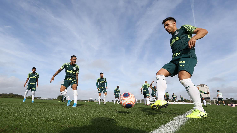 Cesar Greco/Ag. Palmeiras/Divulgação_O Palmeiras treinou em um dos campos do Omni Resort at ChampionsGate