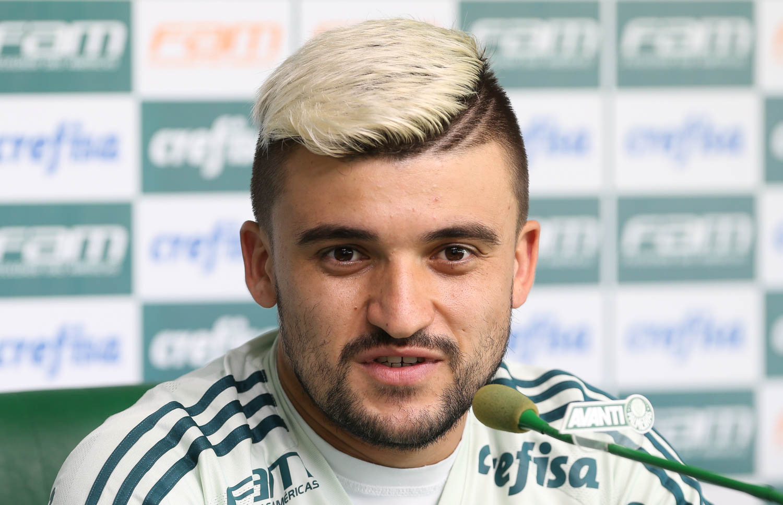 Cesar Greco/Ag Palmeiras/Divulgação_ Formado nas categorias de base do clube, Victor Luis estreou pelo time principal do Verdão em 2014