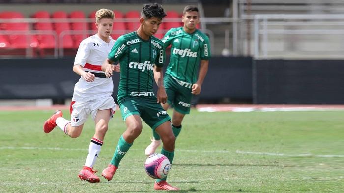 Afonso Pastore/saopaulofc.net_O Sub-13 palmeirense não sabe o que é perder no Paulista