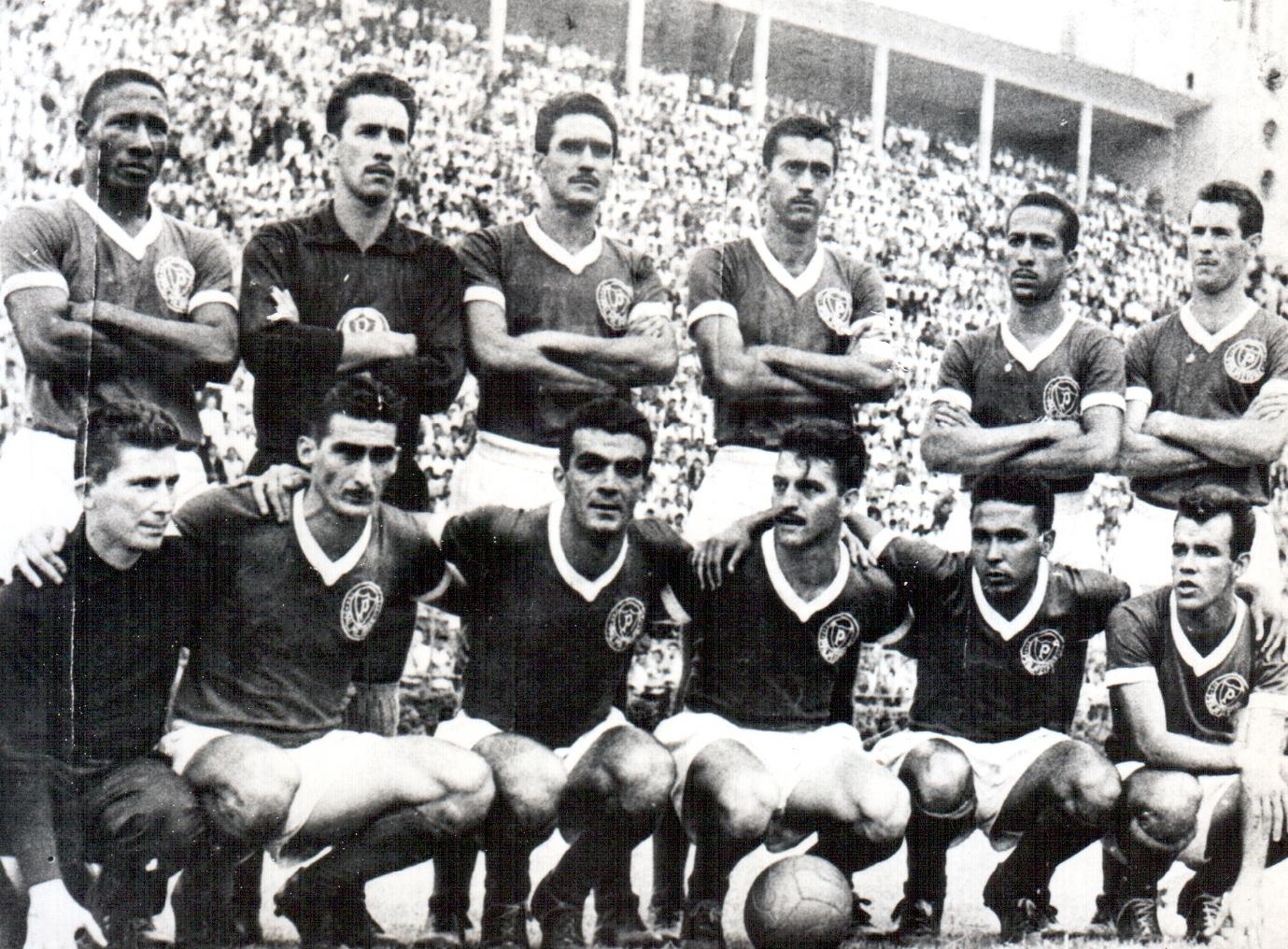 Acervo Histórico_Em 1959, o Palmeiras conquistou o Campeonato Paulista ao vencer o Santos de Pepe na final