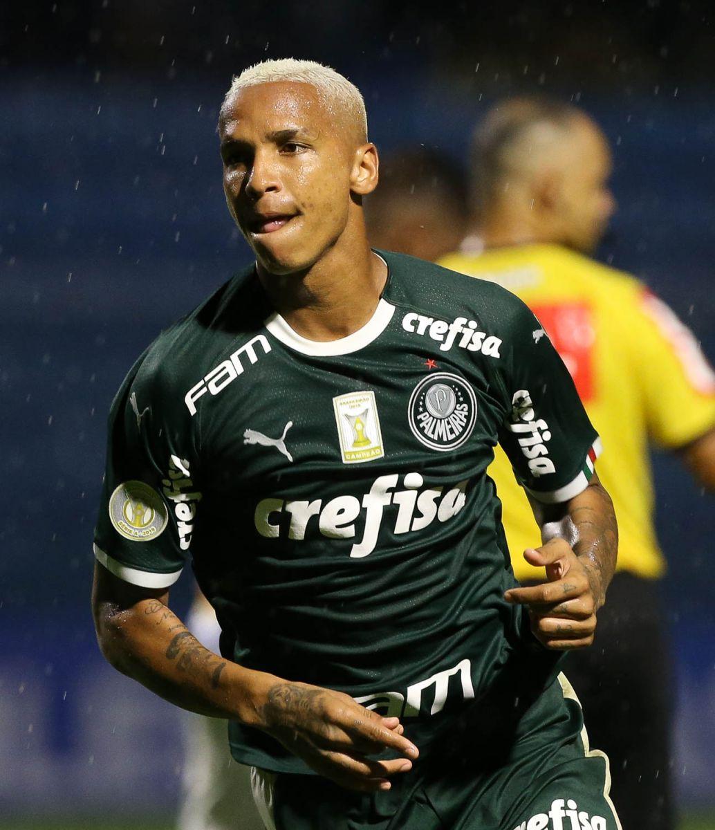 Cesar Greco/Ag Palmeiras/Divulgação_Deyverson abriu o placar para o Verdão