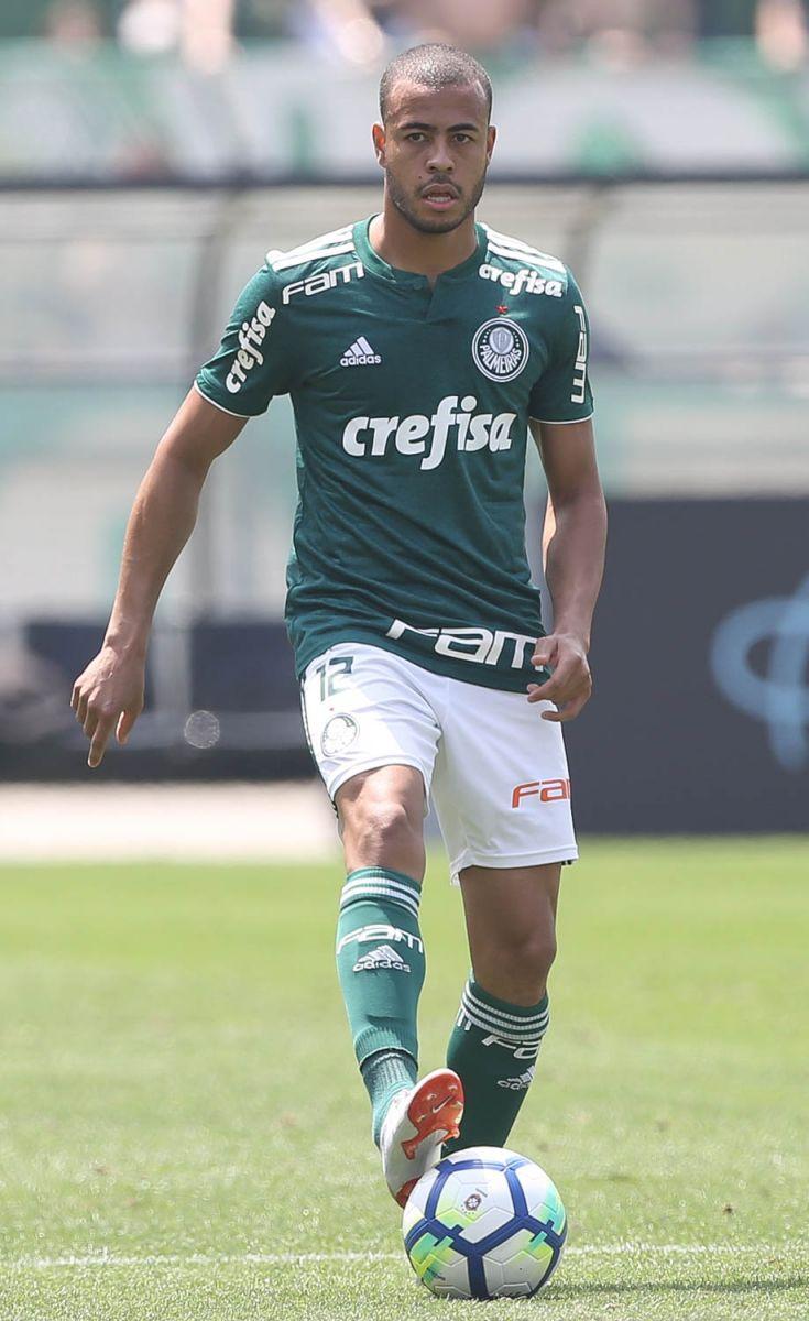 Cesar Greco/Ag Palmeiras/Divulgação_Mayke entrou no 2º tempo