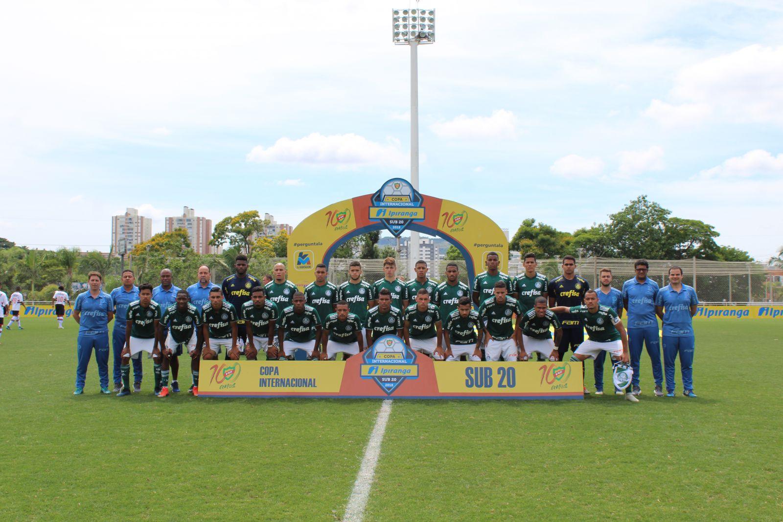 FGF/Divulgação_A base do Palmeiras levantou 23 taças em 2018