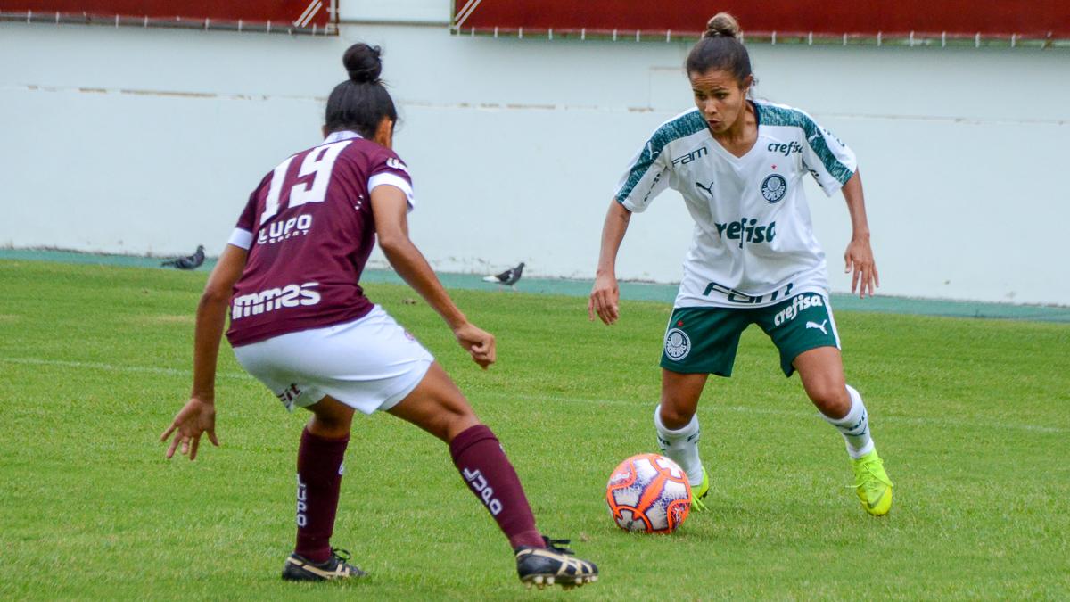 Tatiane Marques/Divulgação_Monica marcou quatro gols pelo Palmeiras em 2019