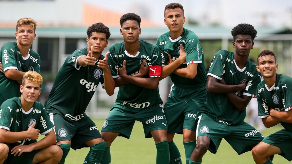 Fabio Menotti/Ag. Palmeiras/Divulgação_Em fevereiro, o Sub-16 do Palmeiras disputou a FAM Cup e ficou com o título da Série Prata do torneio