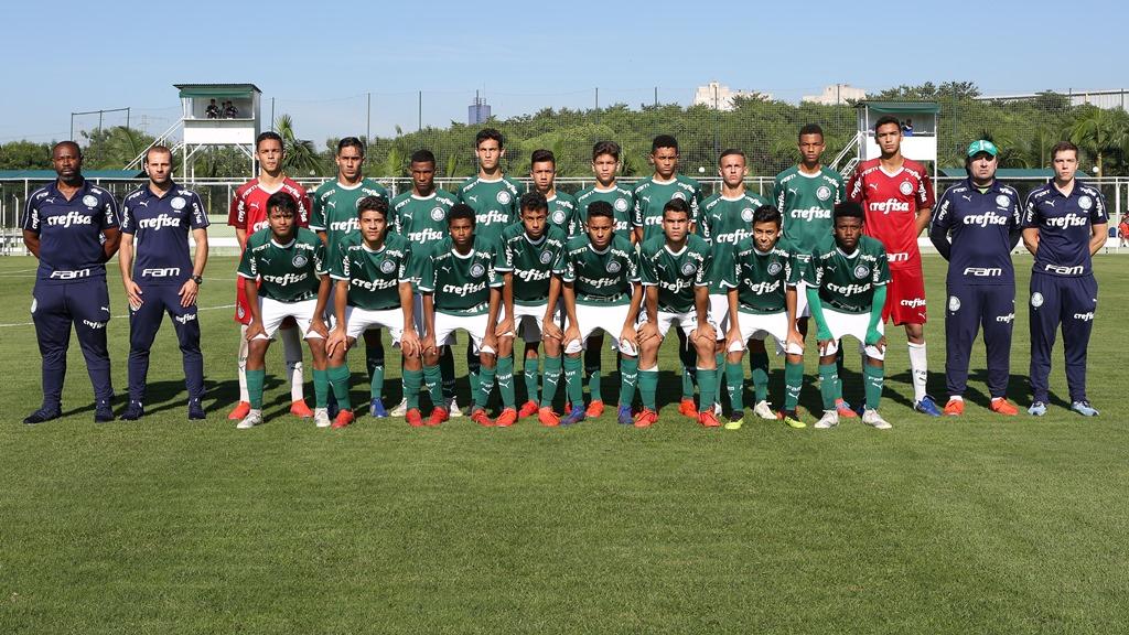Fabio Menotti/Ag. Palmeiras/Divulgação_O Sub-15 do Palmeiras já está classificado para as quartas de final do Paulista