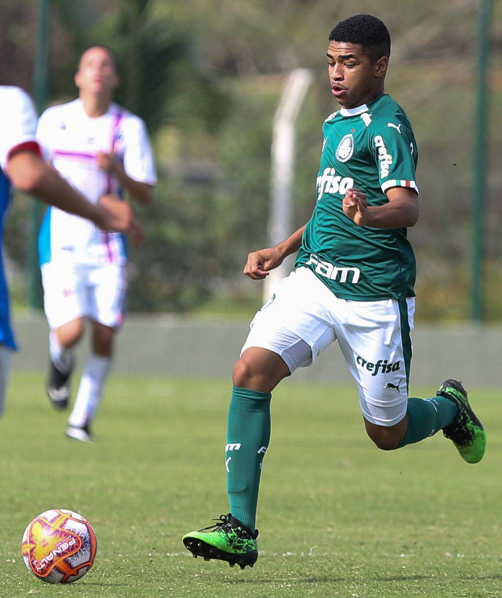 Fabio Menotti/Ag. Palmeiras/Divulgação_Wendell balançou a rede contra a Portuguesa Santista