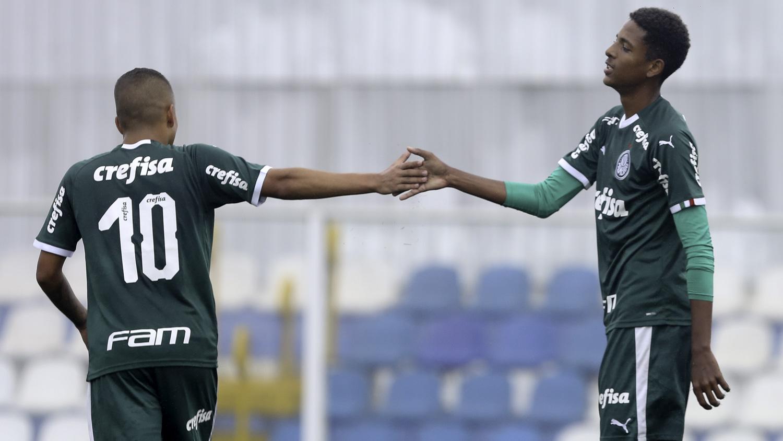 Fabio Menotti/Ag. Palmeiras/Divulgação_Pela Copa do Brasil, o Sub-17 alviverde goleou o Náutico por 11 a 2 na quarta-feira (21)