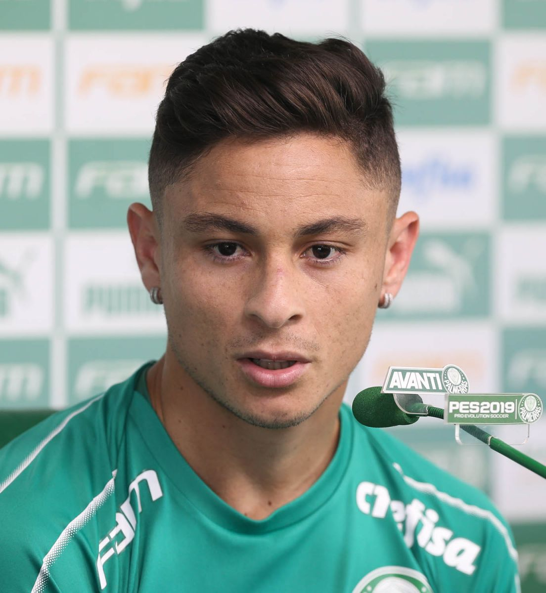 Cesar Greco/Ag Palmeiras/Divulgação_Diogo Barbosa falou sobre o início do trabalho de Mano Menezes no Palmeiras