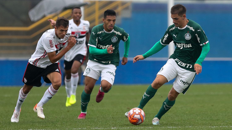 Fabio Menotti/Ag. Palmeiras/Divulgação_O Sub-20 disputa uma vaga na final do Paulista com o São Paulo