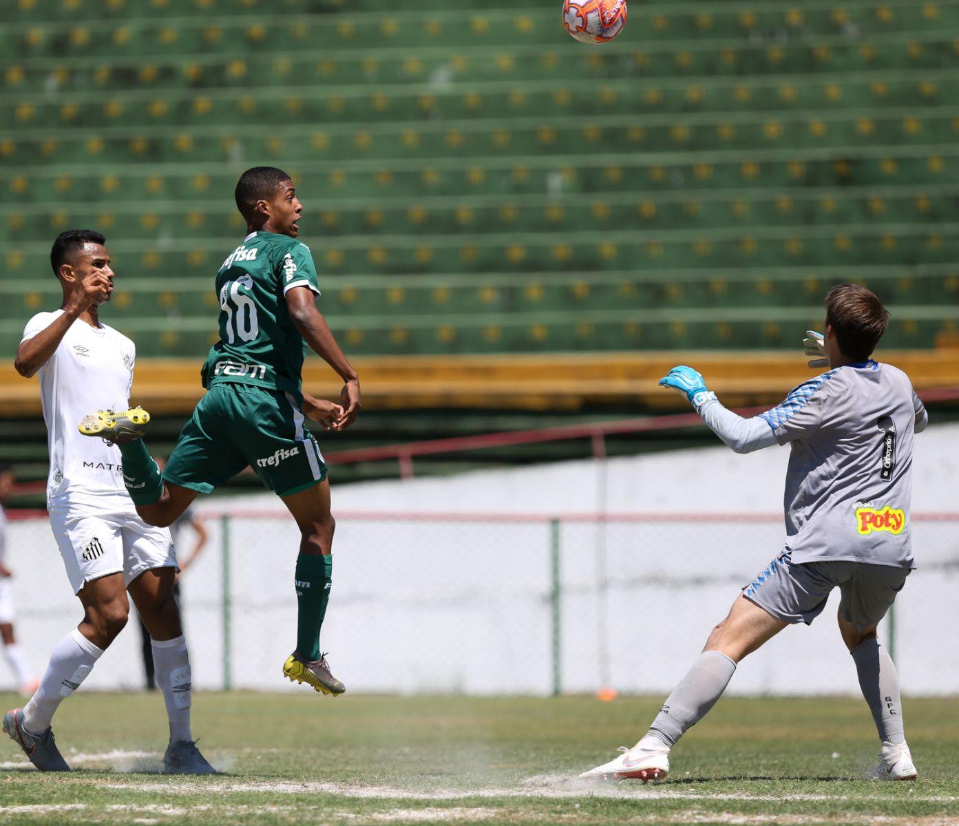Fabio Menotti/Ag. Palmeiras/Divulgação_O Palmeiras tem a melhor campanha do Campeonato Paulista Sub-17