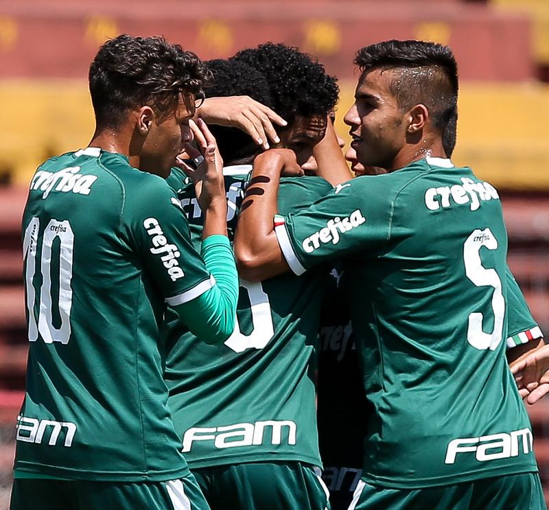 Fabio Menotti/Palmeiras _ O Sub-17 alviverde tem a melhor campanha geral do Paulista