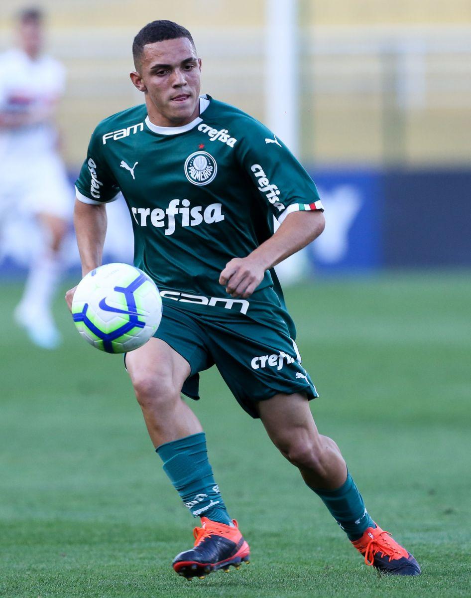Fabio Menotti/Ag. Palmeiras/Divulgação_No Sub-17, Marcelinho abriu o placar para o Palmeiras