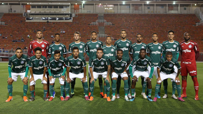 Fabio Menotti/Ag. Palmeiras/Divulgação_O Sub-20 enfrenta o Red Bull Brasil, às 16h, no primeiro jogo da decisão
