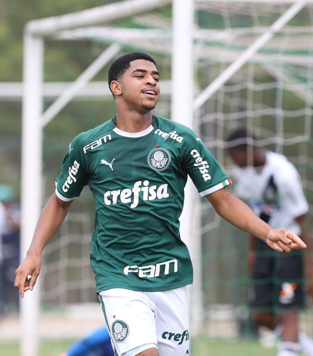 Fabio Menotti/Ag. Palmeiras/Divulgação_Na ida, o atacante Wendell marcou dois gols contra o Red Bull Brasil