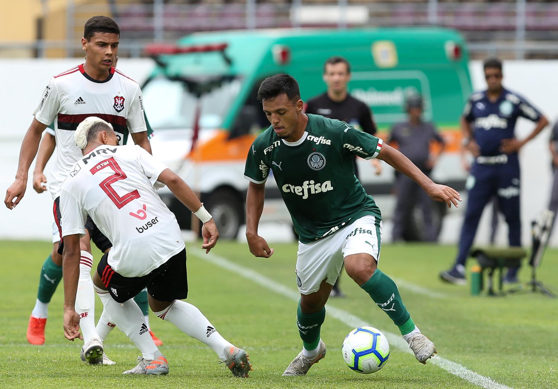Fabio Menotti/Ag. PalmeiraS/Divulgação_Gabriel Menino é um dos destaques da base do Palmeiras