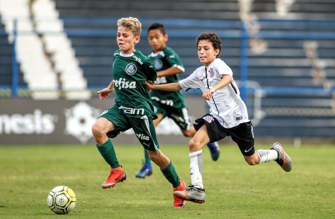 Marcos Bezerra/Ag. Corinthians_A base palestrina superou o Corinthians na final nas categorias Sub-11 e Sub-13