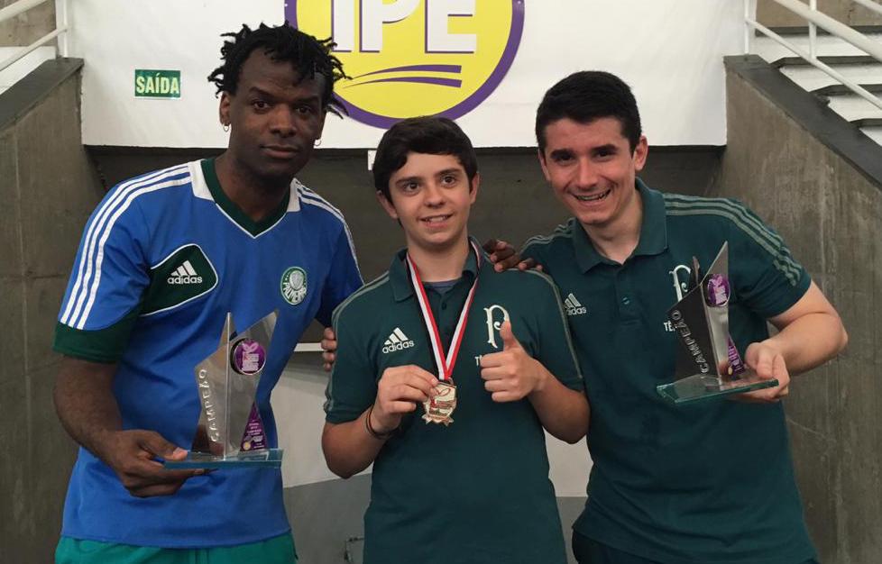 Divulgação _ Carlos, Diego e Eduardo estão com boas campanhas no torneio
