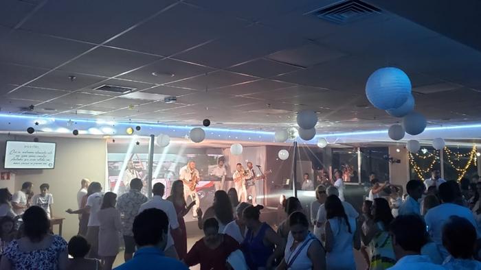 Divulgação_ Entre convidados e associados, 426 pessoas acompanharam a virada de ano na festa de Réveillon do Verdão