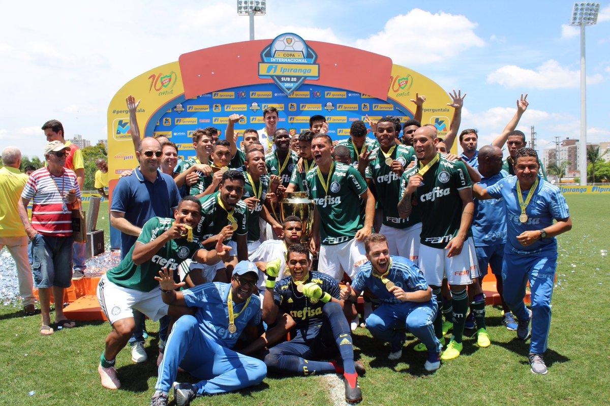 FPF/Divulgação_A Copa RS é o quarto título conquistado no Brasil pelo Sub-20 do Verdão nesta temporada