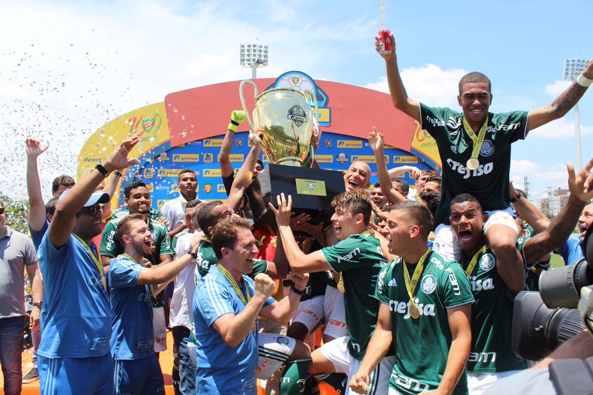 FGF/Divulgação_De maneira invicta, o Palmeiras conquistou sua primeira Copa RS