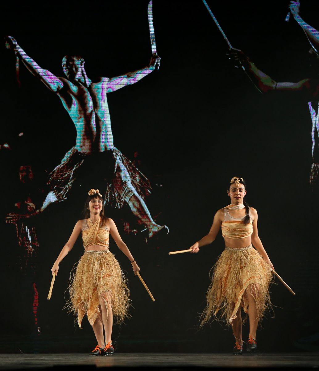 Fabio Menotti/Ag Palmeiras/Divulgação_Ballet clássico, jazz e sapateado foram alguns dos estilos de dança exibidos no espetáculo