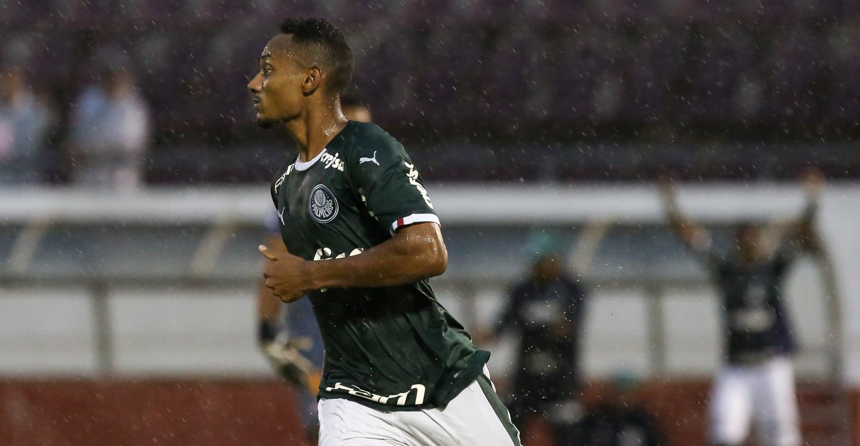 Fabio Menotti/Ag. Palmeiras/Divulgação_ Fabricio abriu a contagem para o Verdão