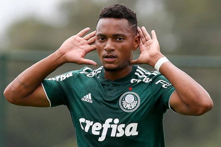 Fabio Menotti/Ag Palmeiras/Divulgação_Fabrício ficou a apenas um gol de igualar o recorde de Gabriel Jesus na categoria Sub-17
