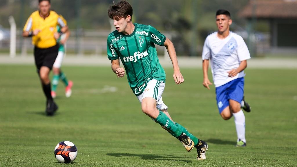 Fabio Menotti/Ag Palmeiras/Divulgação_Atleta Leonardo Passos se lesionou, mas encerrou a Copa do Brasil como goleador máximo: seis gols