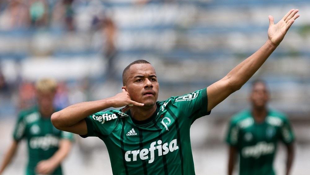 Fabio Menotti/Ag Palmeiras/Divulgação_Papagaio sagrou-se campeão brasileiro por duas categorias e ainda foi artilheiro no Sub-20, com 12 gols