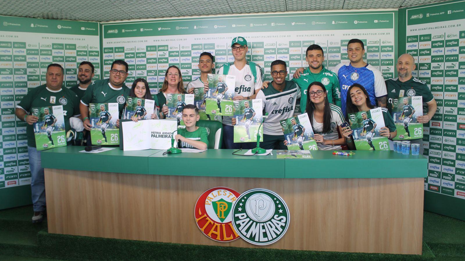 Divulgação_Victor Luis participou da última edição do quiz com os torcedores