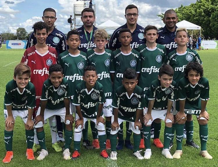 Divulgação_O Sub-11 alviverde goleou o Jabaquara por 4 a 0, com gols de João Paulo, Kauã, Bernardo e Murilo Felpa