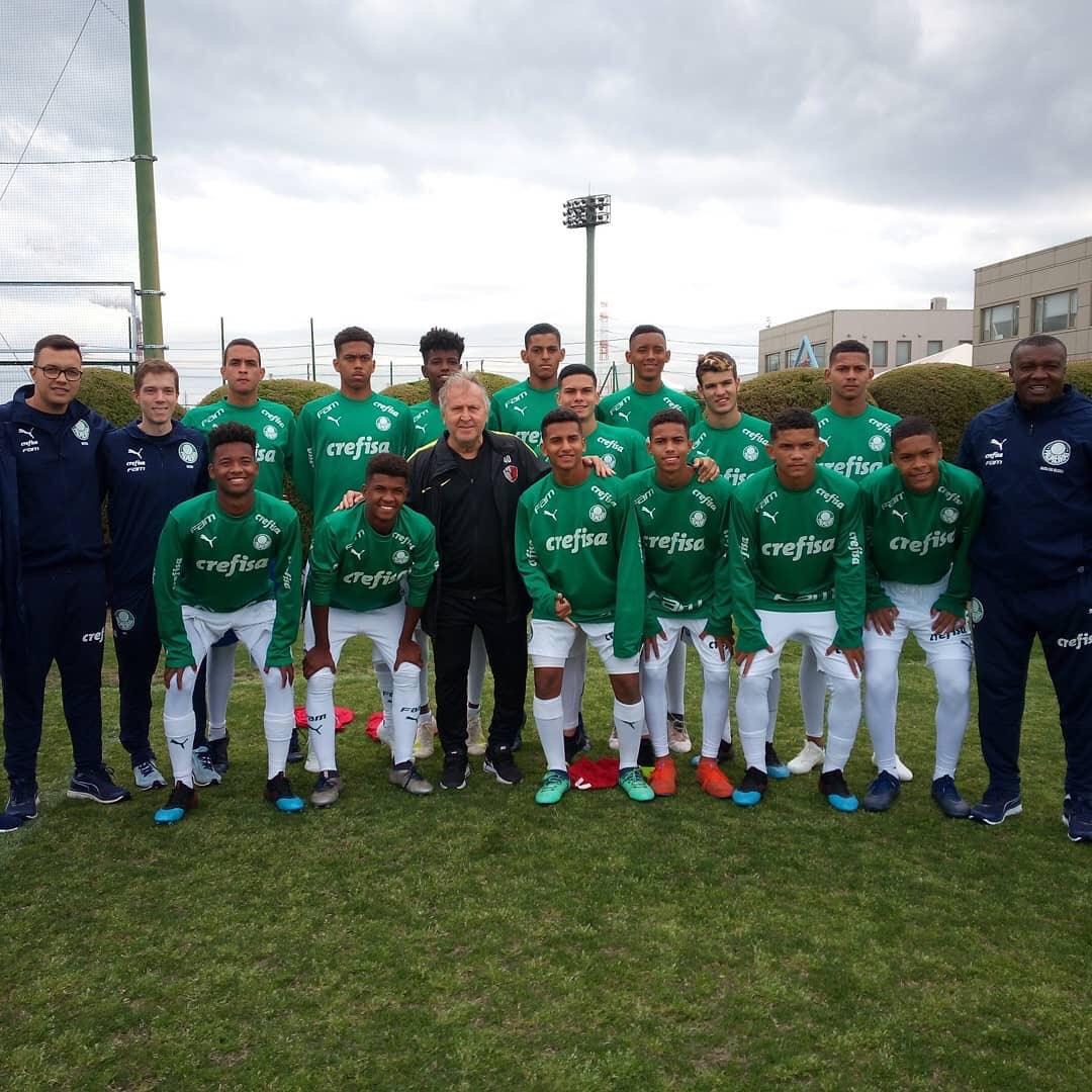 Divulgação_O Verdão terminou o Ibaraki U-16 International Youth 2019 com vitória
