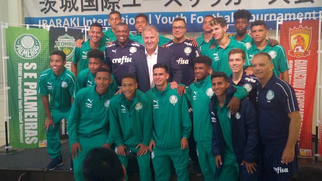 Divulgação_O Sub-16 terminou o torneio japonês com três vitorias e um empate