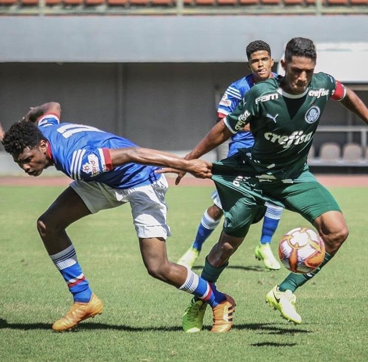 Divulgação_O Sub-16 do Verdão garantiu vaga nas quartas de final da Taça Ouro