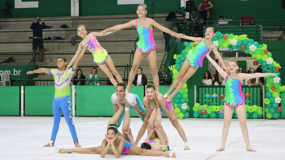 Marylha Maieru/Divulgação_O espetáculo contou com apresentações de ginástica, patinação e dança