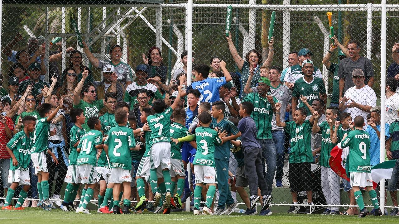 Fabio Menotti/Ag Palmeiras/Divulgação_Pelo segundo ano seguido, todas as categorias da base alviverde estão na final do Paulista