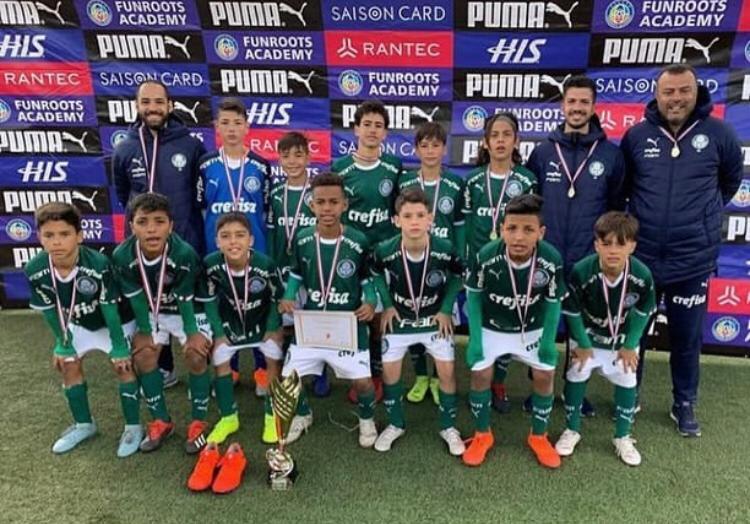 Divulgação_Pelo segundo ano consecutivo, o Verdão conquistou a Copa PUMA Toreros, disputada no Japão