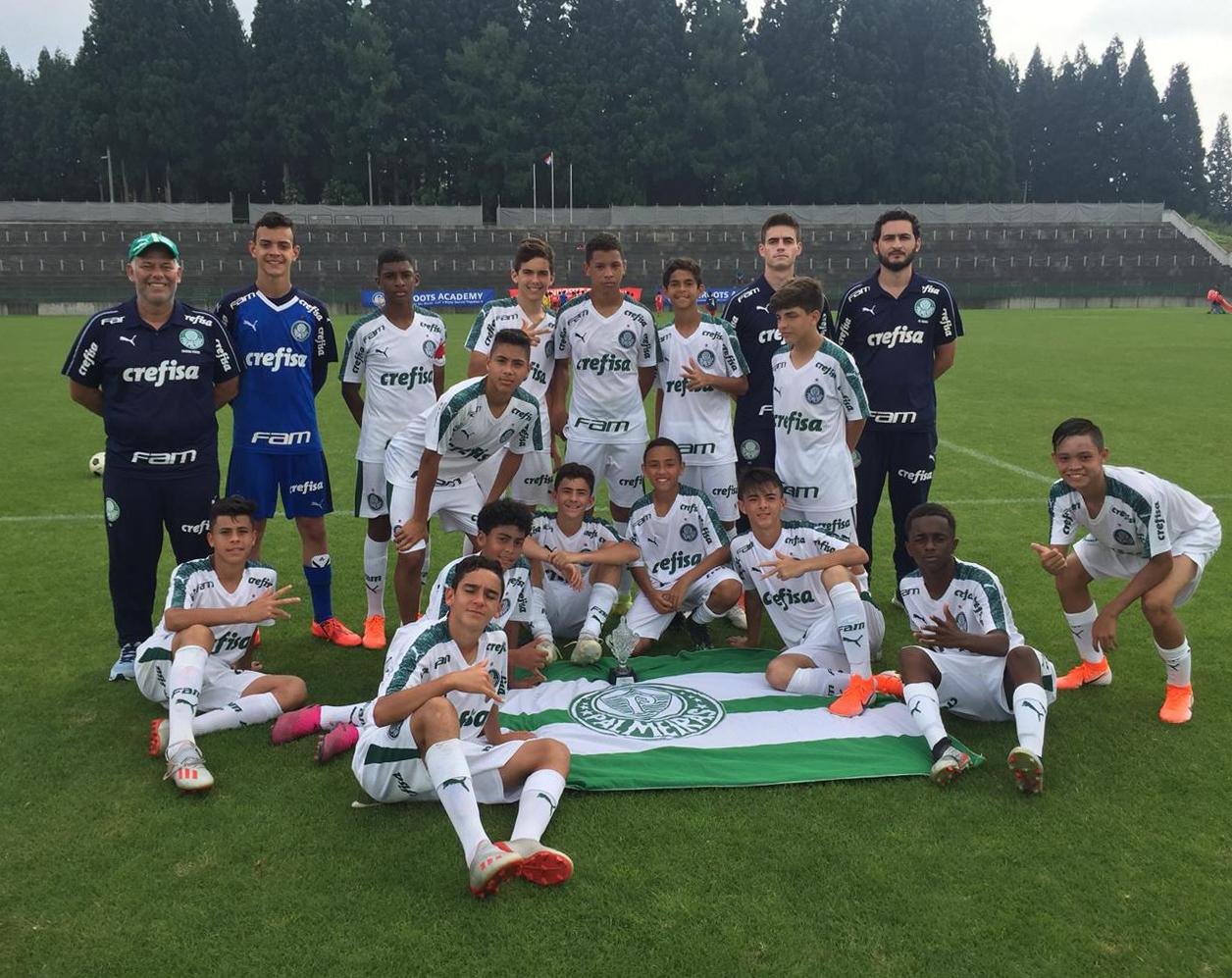 Divulgação_O Sub-13 do Palmeiras marcou impressionantes 125 gols na competição