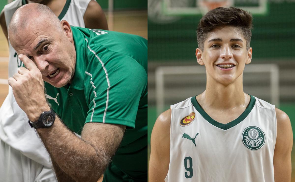 Caio Carlucci _ Adriano (esq.) e Pará (dir.) tiveram grande passagem pelo basquete do Palmeiras