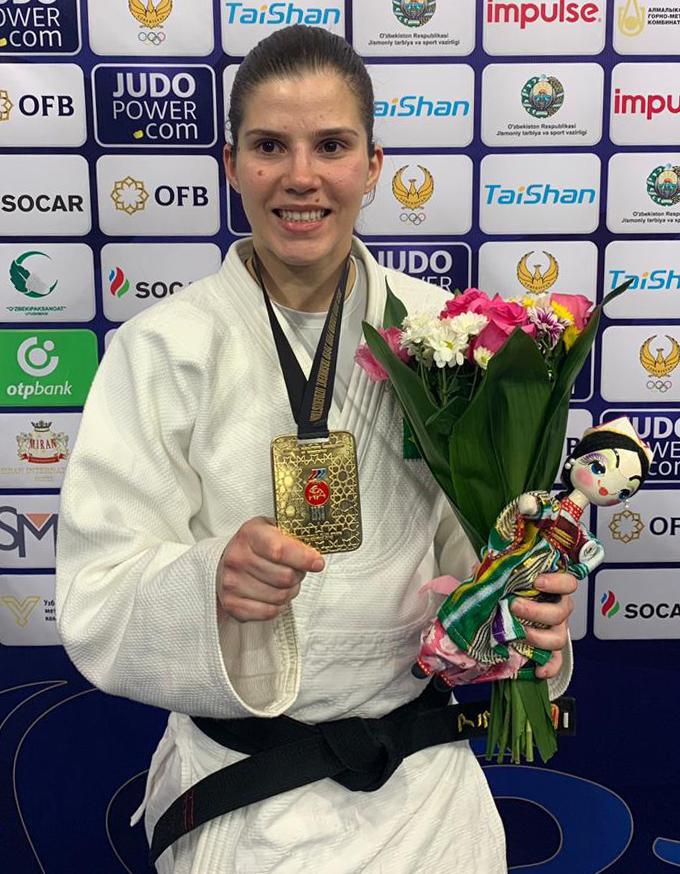 Divulgação _ Alana é a melhor atleta do mundo em sua categoria