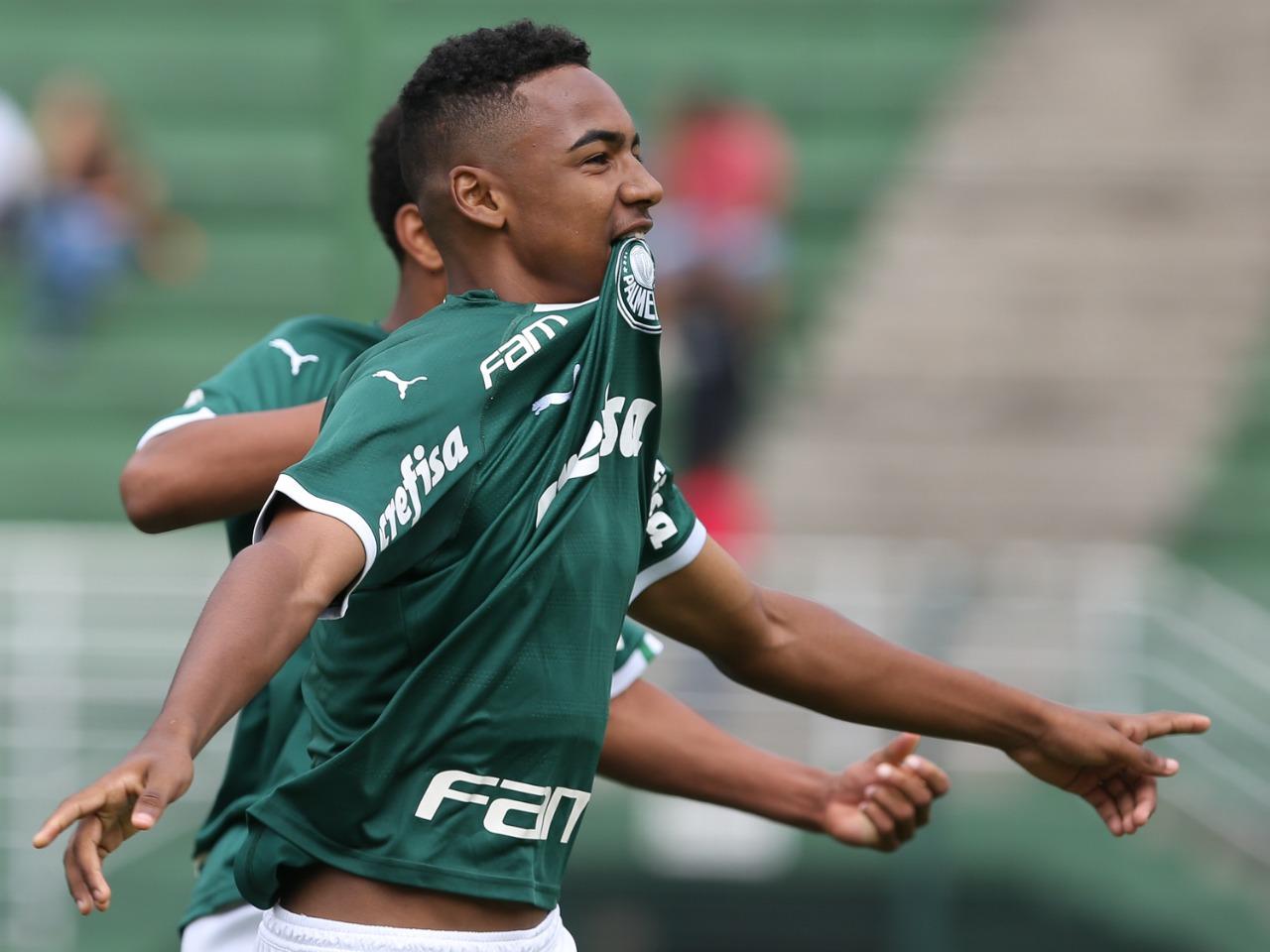 Fabio Menotti/Ag. Palmeiras/Divulgação_Allan abriu o placar de pênalti