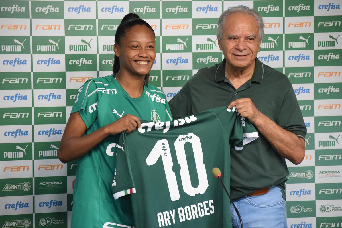 Priscila Pedroso/Palmeiras _ Ary foi destaque na disputa da Série A2 do Brasileiro Feminino no ano passado