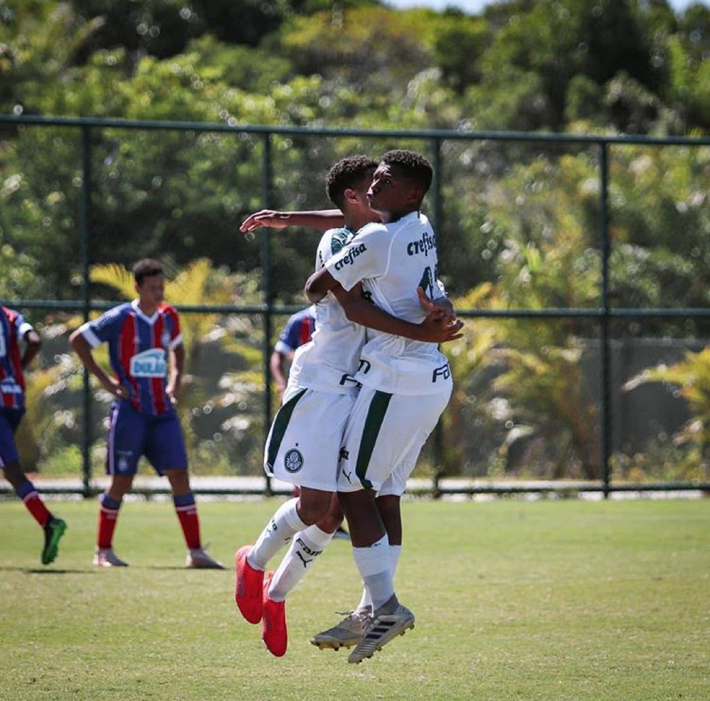 Renan Oliveira_O Palmeiras venceu o Bahia B com gol de Robert, artilheiro da equipe no torneio