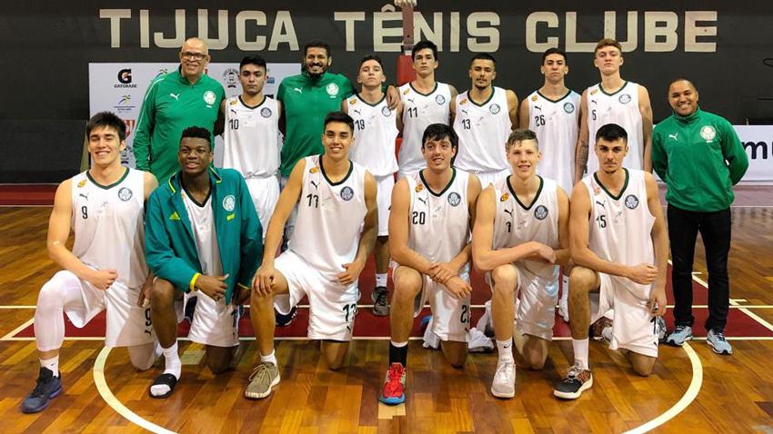 Divulgação_O Sub-18 do Palmeiras tem a melhor campanha da competição