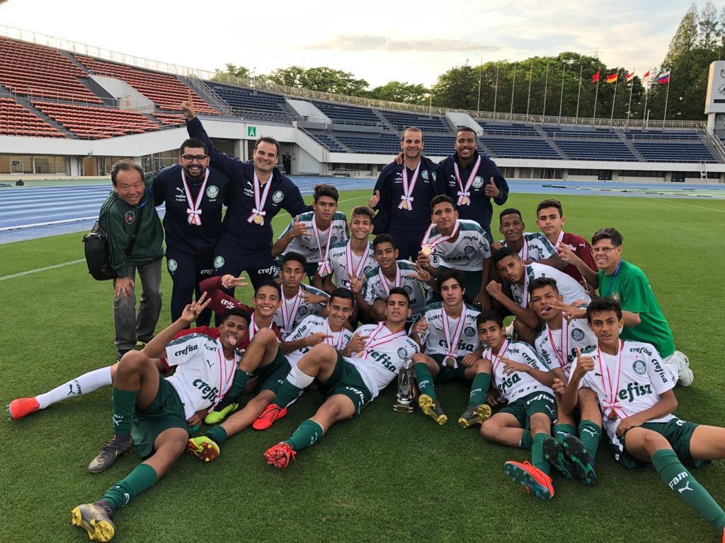 Divulgação_O Palmeiras venceu o Tokyo U-14 International Youth Football Tournament com campanha invicta